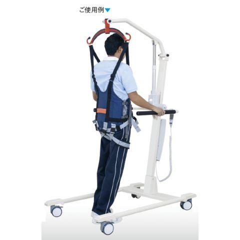 別売の電動歩行訓練リフトとの併用時